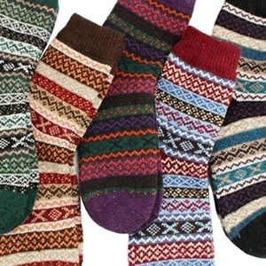Bundle of 5 NWT wool blend socks.